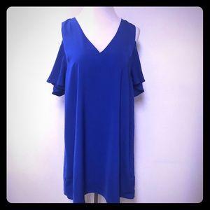 Sugar Lips Anthropologie Dress Royal Blue Sz XL